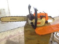 "Stihl 024 15"" professional chain saw"