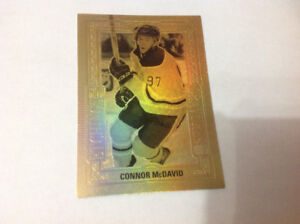 CONNOR MCDAVID TIM HORTONS CARD