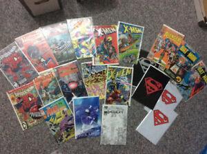 Comic book lot