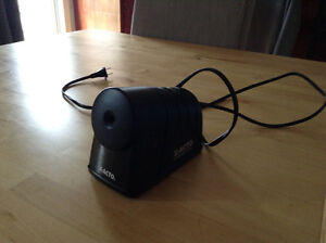 Electric pencil sharpener asking $10.