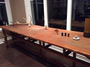 Antique table from 1800s