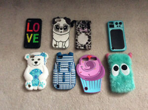 Various iPod cases