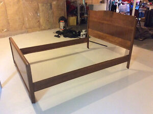 Beautiful Antique Double Bed Frame