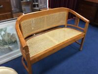 Wicker Conservatory Bench