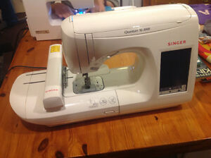 Singer Quantum XL 1000 sewing/ emboidery machine