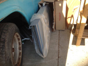 Chevy 1955 to 1959 short bed step side bed panels