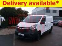 2014 Vauxhall Vivaro 2700 CDTi 1.6 DAMAGED REPAIRABLE SALVAGE