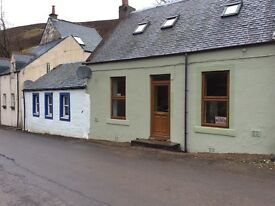 Highest village in Scotland Two bed. Cottage