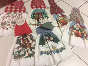 NEW - kitchen towels (handmade)