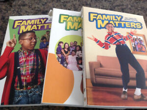 FAMILY MATTERS SEASONS 2,3 AND 4