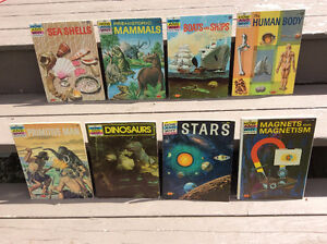 LOT OF 7 HOW AND WHY WONDER BOOKS, VINTAGE CHILDREN'S BOOKS