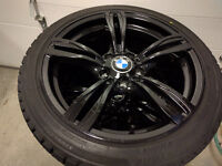 "18"" BMW Wheels with Bridgestone Blizzaks 235/40/18 Winters Snow"