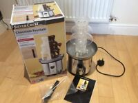 Silver Crest Stainless Steel Chocolate Fountain - Dual Chamber