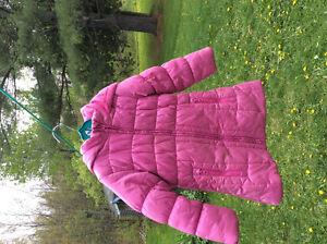 Manteau 3/4 hiver fille 5 ans