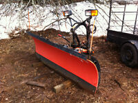 deluxe poly plow