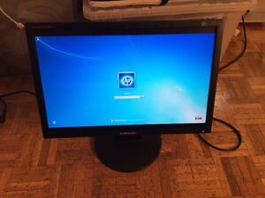 "Samsung 2043NW 20"" Widescreen 5ms LCD Monitor - Black"