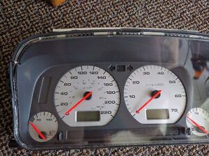 VW Golf MK3/Jetta Instrument cluster/gauges/speedo
