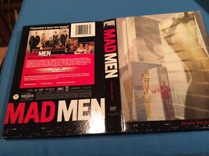MADMEN DVD - SEASON 1 COMPLETE IN GOOD CONDITION