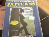 """PATTERNS """"LEANING COWBOY SHADOW""""  WOOD WORKING PLANS"""