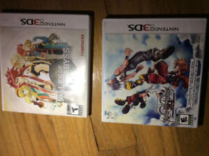 Kingdom Hearts $20, Tales of the Abyss $30