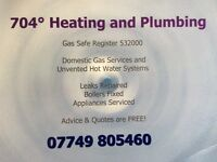 Gas Safe Plumber for Nottingham Ilkeston & Derby