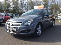 2007 Vauxhall Astra 86,000miles, Finance Available, 3 Month RAC Warranty, April 2018 MOT