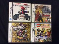 4 Assorted Nintendo Ds Games.