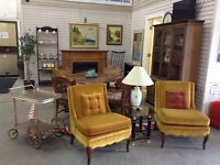 Miscellaneous furniture and household items