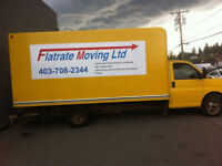 Affordable stress free moving 2 men & truck $90 plus travel time