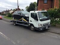 MITSUBISHI CANTER RECOVERY TRUCK 3 LTR TURBO DIESEL 58 PLATE