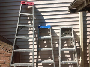 Ladders 8ft and 6ft
