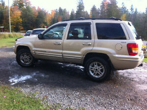 2000 Jeep Grand Cherokee 4x4 limited VUS