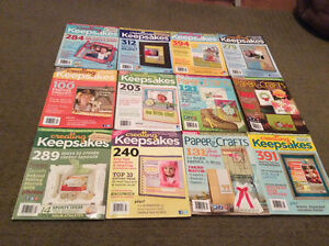 24 Scrapbooking Magazines in Brand New Condition