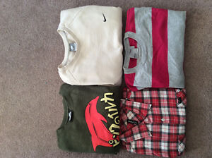 Name brand men's clothes RVCA RIPNDIP Pink Dolphin NIKE