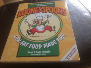LOONEYSPOONS LOW-FAT FOOD MADE FUN COOKBOOK~ 1996