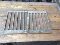 Antique wood hand carved tool box or a CABINET????
