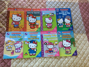 8 Hello Kitty early learning books