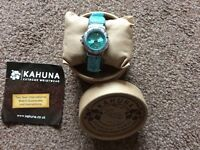 Kahuna ladies waterproof watch, boxed and excellent condition.