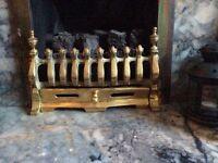 Brass Fire Fret/Front