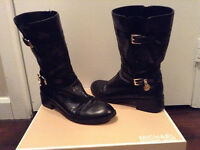 Michael Kors Distressed Boots - Size 8