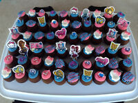 Cupcakes, gâteaux au fromage format cupcake, cakepops...