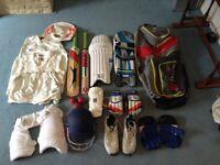 Full cricket kit