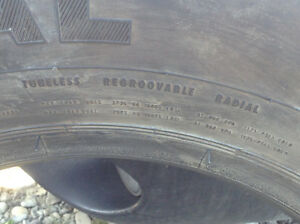 4 BRAND NEW  CONTINENTAL HTR 17.5 TIRES(special tires)