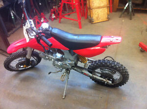 Honda pitster pro, just redid engine, (chinese) text anytime