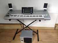 YAMAHA TYROS 4 WITH SPEAKER SYSTEM ,,,EXCELLENT CONDITION , SOLD SOLD SOLD