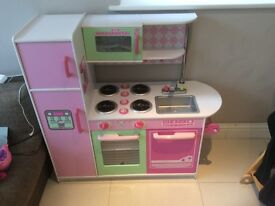 GLTC Pink Toy Play Kitchen - large!