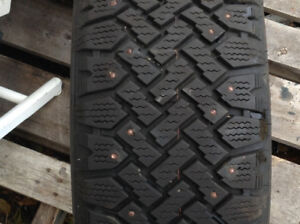 205/55/16 studded snow tires