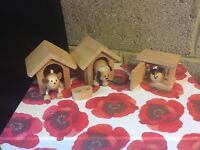 Wooden Doll's House Pet Animals