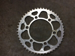 KTM 50 tooth rear sprocket for exc, xc, and sx motorcycles.