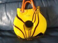 Laguna Art Glass Handbag Vase
